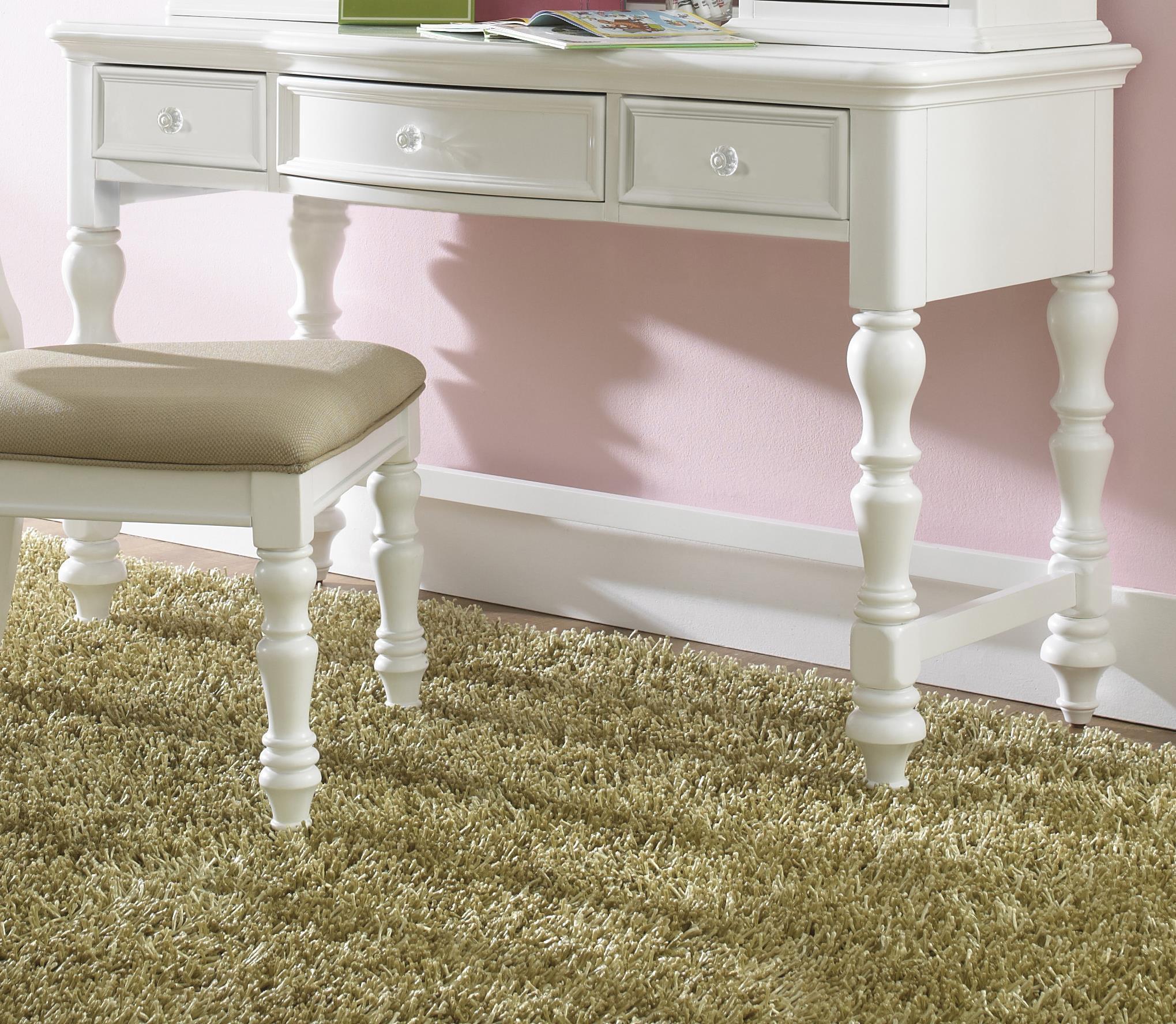 Morris Home Furnishings Sarasota Sarasota Vanity Desk - Item Number: 8470-414