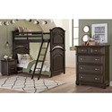 Samuel Lawrence Tundra Twin Bedroom Group - Item Number: S384 T Bedroom Group 3