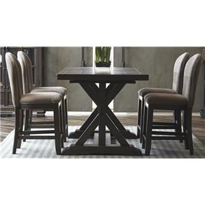 Morris Home Furnishings Union Station Union Station 5-Piece Dining Set