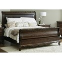 Samuel Lawrence Vintage California King Sleigh Bed - Item Number: S606-270+271+406