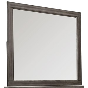 Landscape Mirror with Bevel