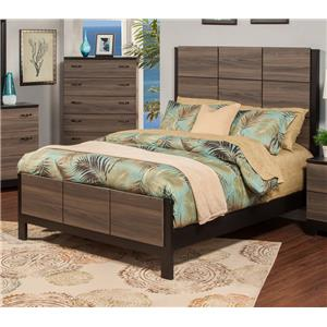 Sandberg Furniture 438 438 Queen Bed