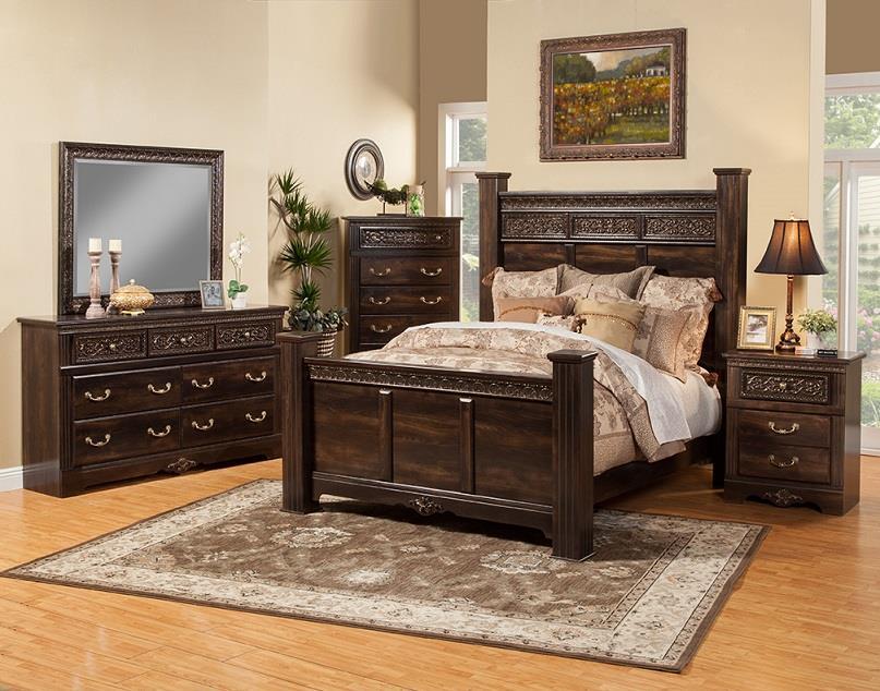 Sandberg Furniture Andorra Cal King Bedroom Group - Item Number: 35500 CK Bedroom Group 1