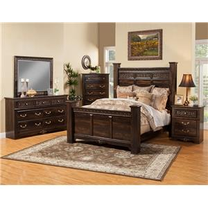 Sandberg Furniture Andorra Cal King Bedroom Group