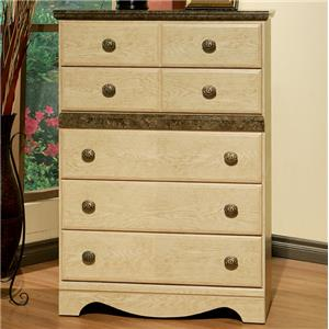Sandberg Furniture Casa Blanca Drawer Chest