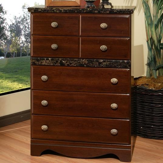 Sandberg Furniture Colina Drawer Chest - Item Number: 43725