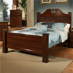 Sandberg Furniture Colina Queen Estate Bed