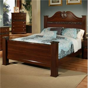Sandberg Furniture Colina Cal King Estate Bed