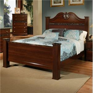 Sandberg Furniture Colina King Estate Bed