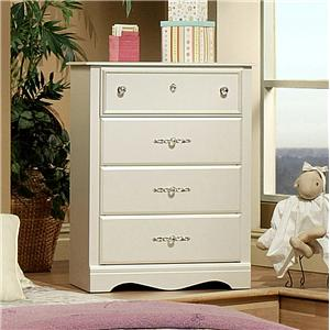 Sandberg Furniture Enchanted 4 Drawer Chest