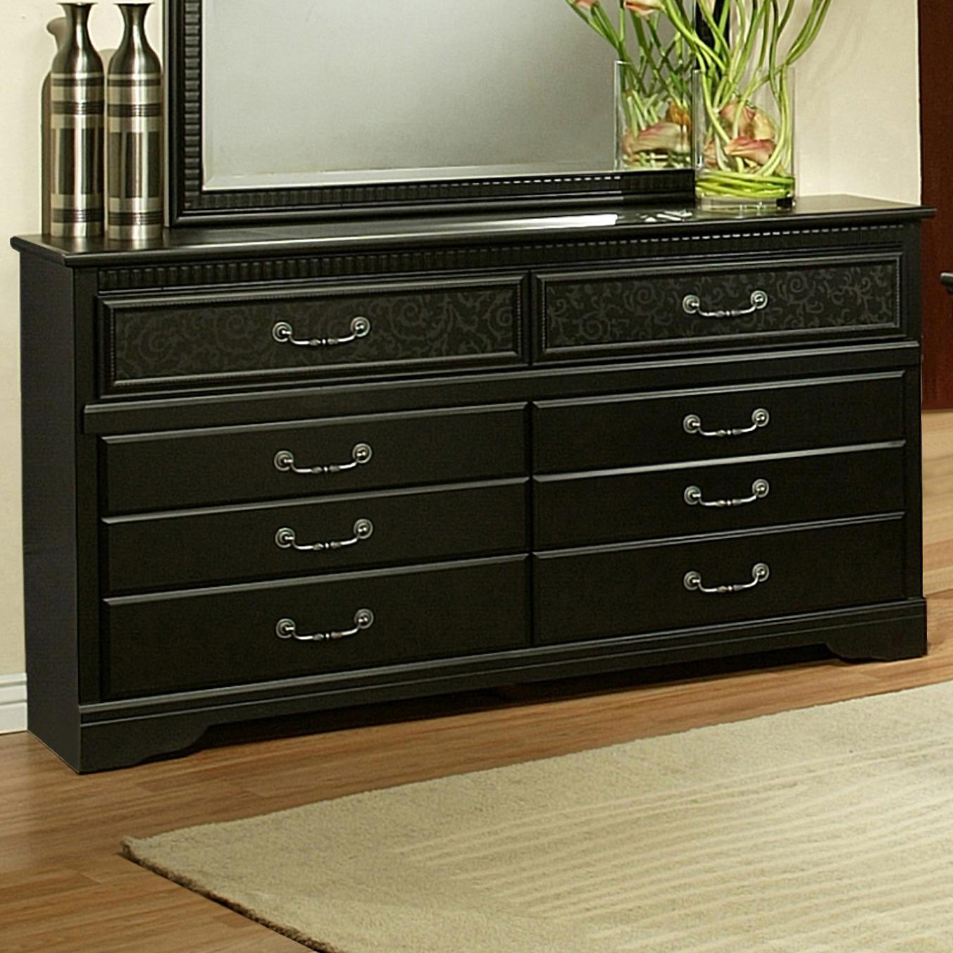 Sandberg Furniture Granada  Dresser - Item Number: 34406