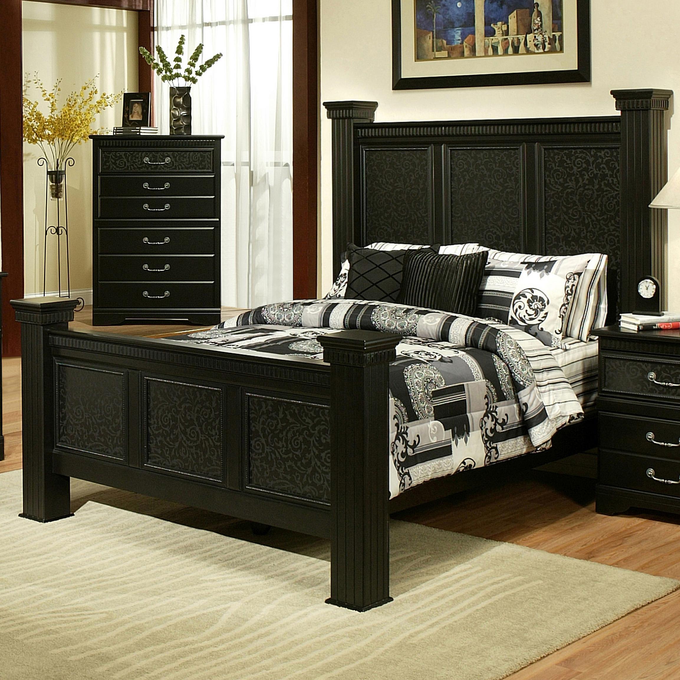Sandberg Furniture Granada  Queen Estate Bed - Item Number: 344A