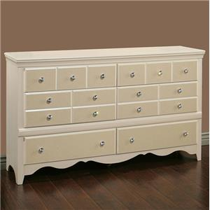 Sandberg Furniture Marilyn Dresser