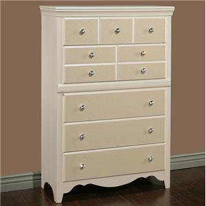 Sandberg Furniture Marilyn Drawer Chest