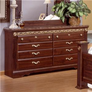 Sandberg Furniture Renaissance Marble Dresser