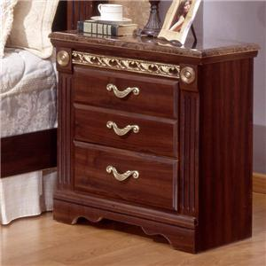 Sandberg Furniture Renaissance Marble Nightstand
