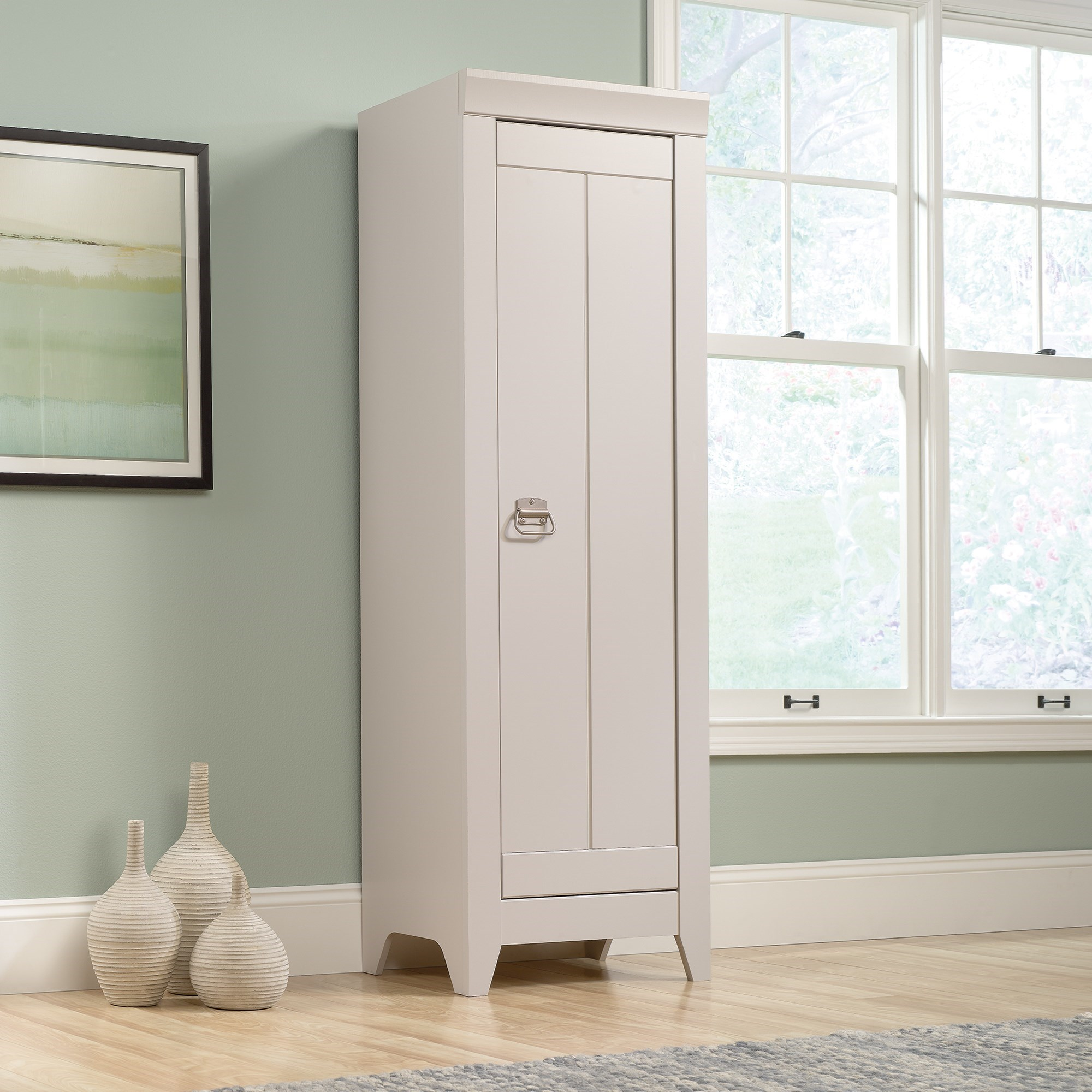 Adept Storage Narrow Storage Cabinet by Sauder at Catalog Outlet