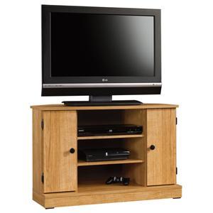 Sauder Beginnings Corner TV Stand