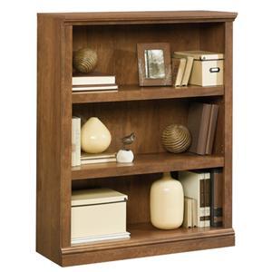 3-Shelf Bookcase with Elegant Slide-On Molding