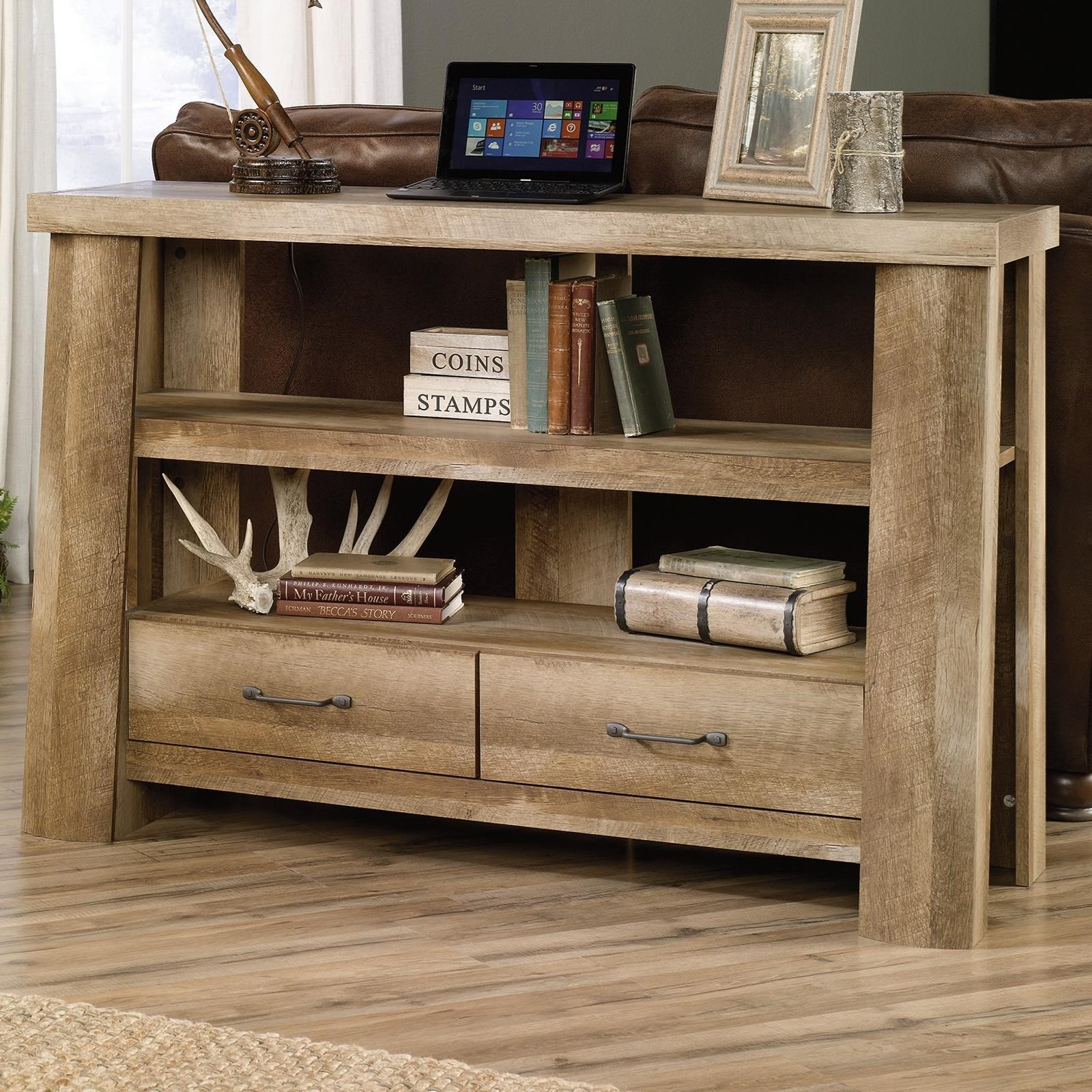 Sauder Boone Mountain 416971 Rustic Style Anywhere Console
