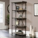 Sauder Canal Street 5-Shelf Bookcase - Item Number: 419228