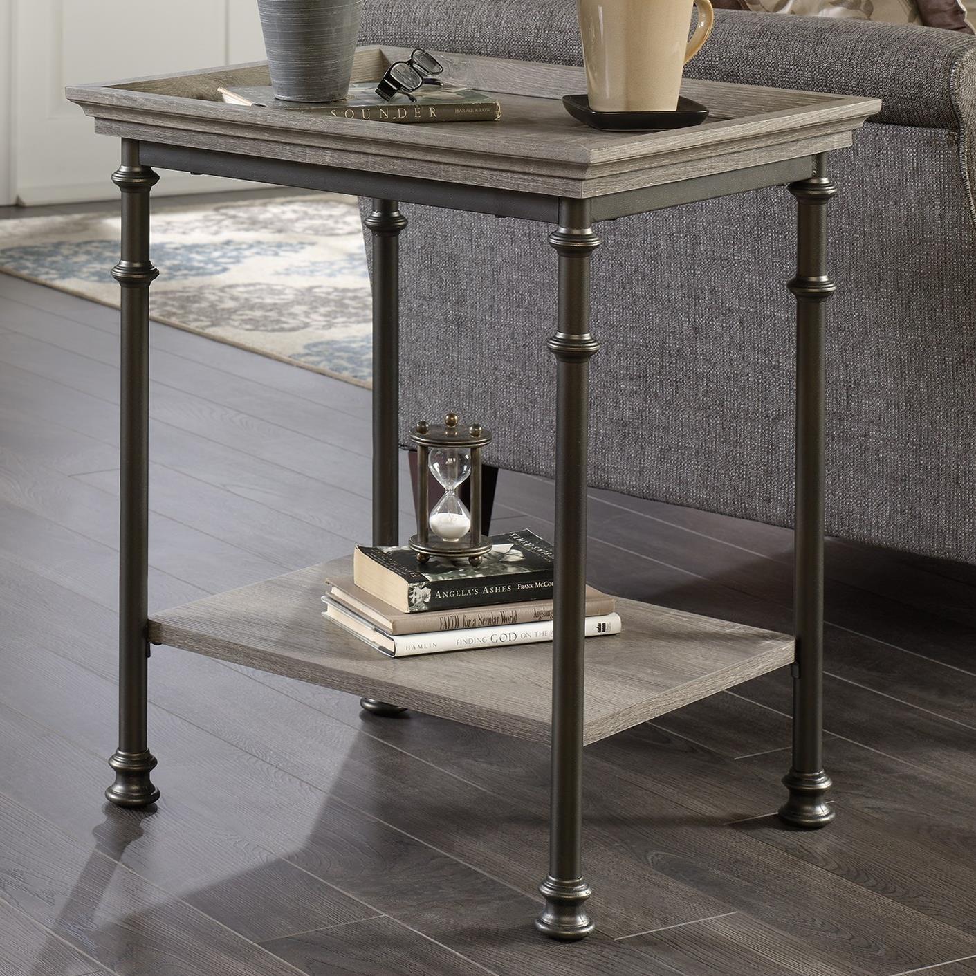 vintage industrial simmons metal side table. Sauder Canal Street Side Table - Item Number: 419229 Vintage Industrial Simmons Metal