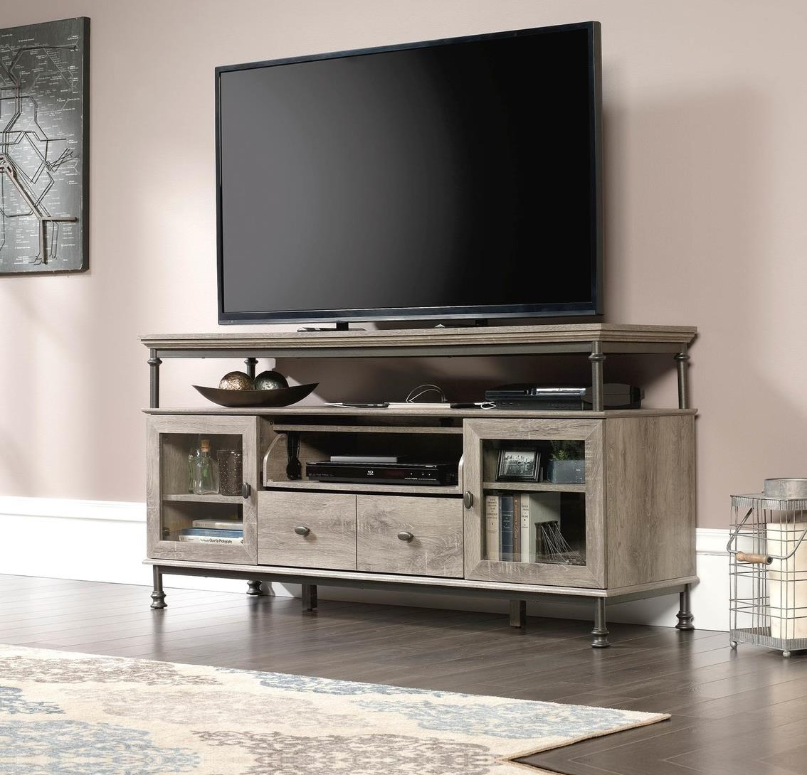 Canal Street Entertainment Credenza by Sauder at Darvin Furniture