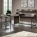 Sauder Canal Street L-Shaped Desk - Item Number: 420509