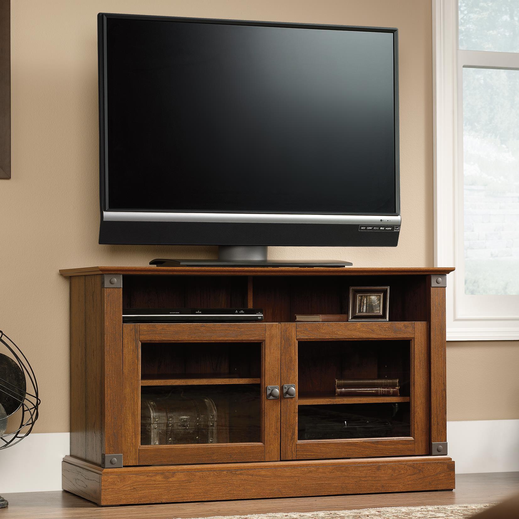 Captivating Sauder Carson Forge Panel TV Stand