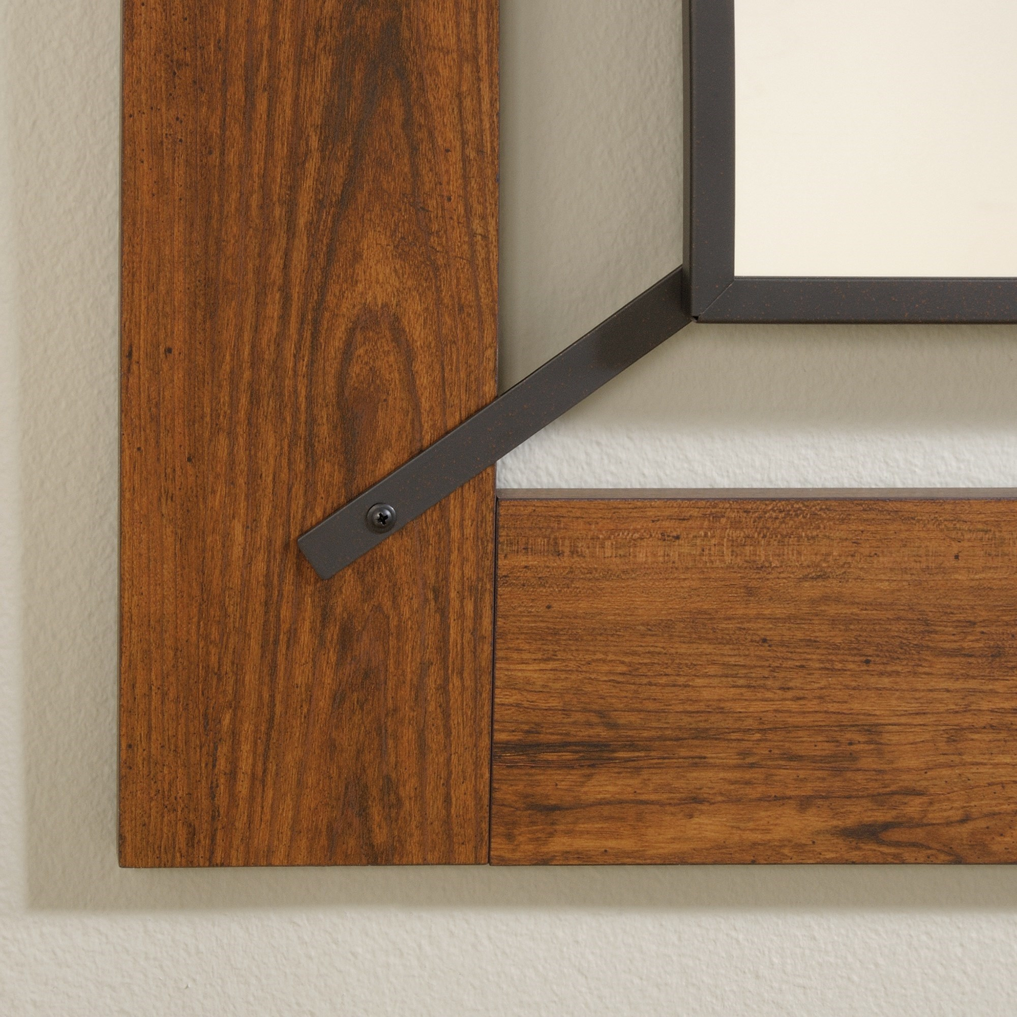 Sauder Carson Forge 415556 Mirror John V Schultz Furniture Wall Mirrors