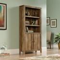 Sauder Dakota Pass Library with Doors - Item Number: 420409