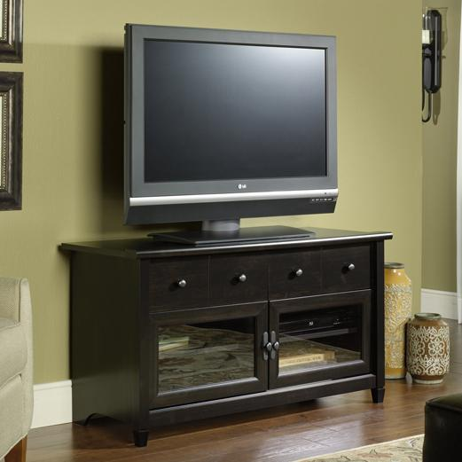 Levitz Home Furnishings: Sauder Edge Water 409047 4 Drawer Panel TV Stand With 2