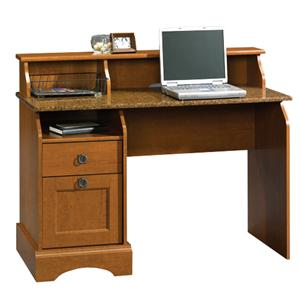 2 Drawer Desk with Granite Accent