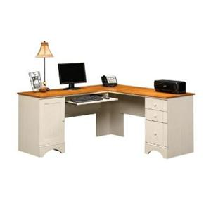 Sauder Harbor View Corner Computer Desk