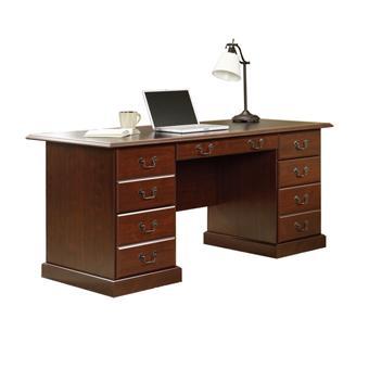 Sauder Heritage Hill 402159 Double Pedestal Executive Desk