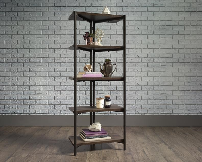 North Avenue See Through Bookcase by Sauder at Red Knot