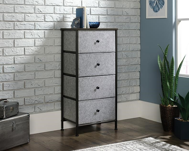 North Avenue 4 Drawer Storage Organizer by Sauder at Red Knot