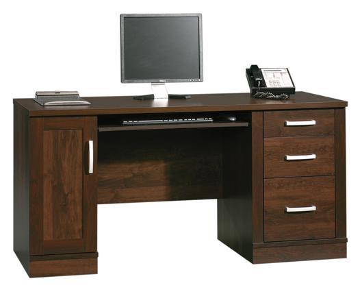 Superieur Sauder Office Port Contemporary Computer Credenza | Westrich Furniture U0026  Appliances | Double Pedestal Desk