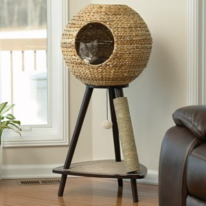 Natural Sphere Cat Tower