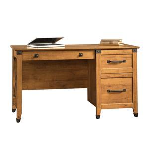 Sauder Registry Row Single Pedestal Desk