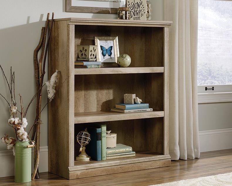3-Shelf Bookcase (Lintel Oak)