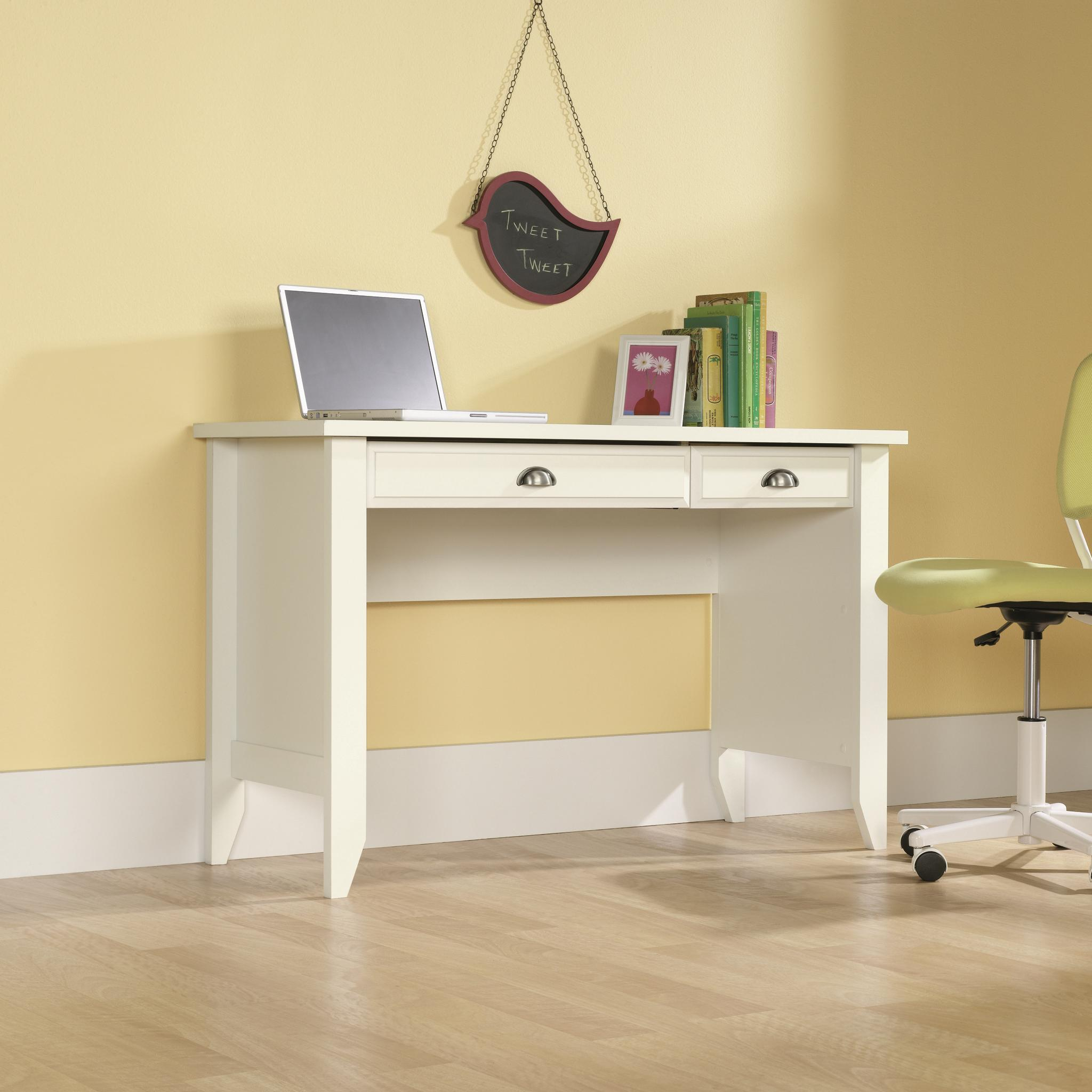 Sauder Shoal Creek 411204 Computer Desk with Small Drawer ...