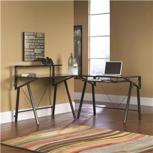 Sauder Vector L-Shaped Desk