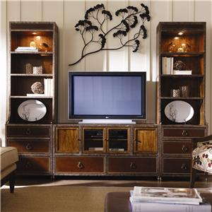 Caracole Home American Kaleidoscope Entertainment Wall Unit