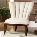 Schnadig Ava Armless Accent Chair with Tufted Channel Back - 8450-004-A
