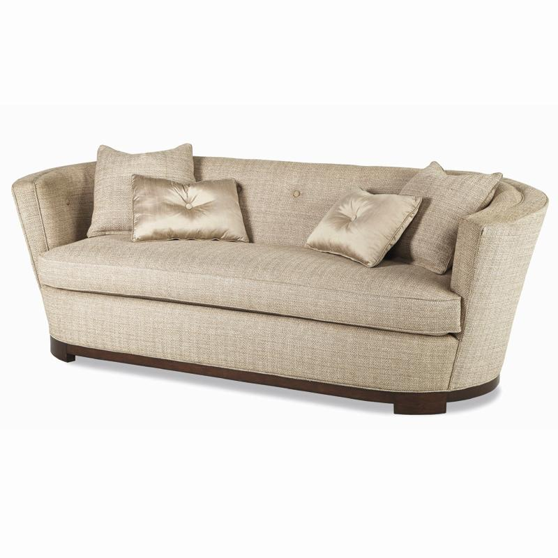 Excellent Schnadig Ava Contemporary Barrel Back Sofa With Button Ibusinesslaw Wood Chair Design Ideas Ibusinesslaworg