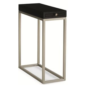 "Caracole Caracole Classic ""Black Tie Optional"" Side Table"