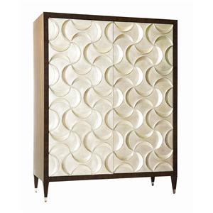 """Kaleidescope Home Caracole - Classic """"Wrapped Up With Ribbon"""" Armoire"""