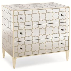"""Caracole Caracole Classic """"Cookies & Cream"""" Nightstand"""