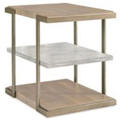 Schnadig Modern Artisan Artisans End Table - Item Number: ATS-ENDTAB-006